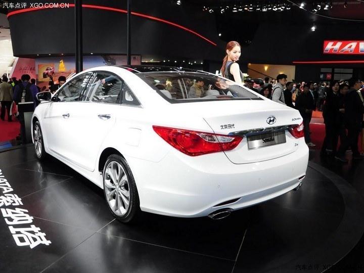2013上海车展 北京现代新款索纳塔亮相