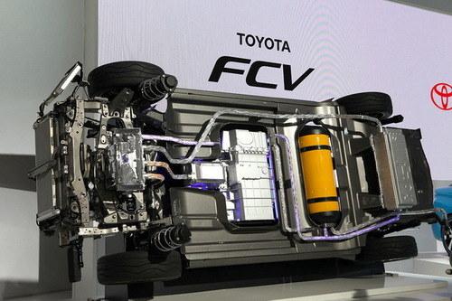 新能源新试验 曝丰田燃料电池车计划