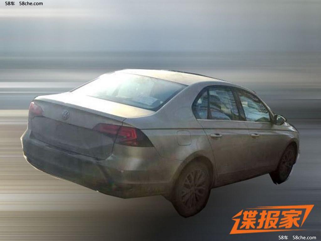 宝来1.5l车型谍照 搭载ea211系列发动机