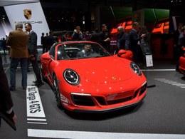 2017日内瓦车展保时捷911