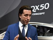 2017上海车展 访日产设计副总裁阿方索