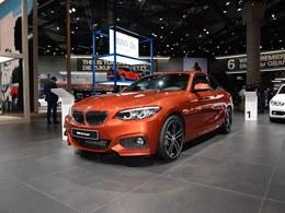 国际车展宝马2系 coupe