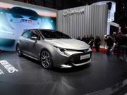 日内瓦车展丰田Auris hybrid