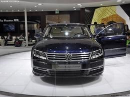 2012北京车展大众 辉腾