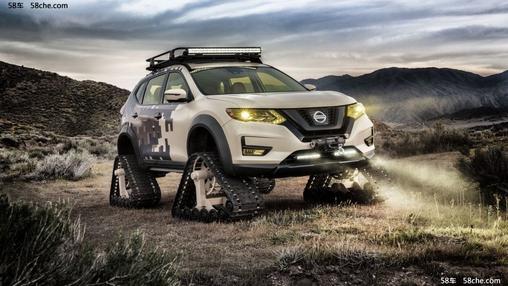 履带加持 Nissan Rogue Trail